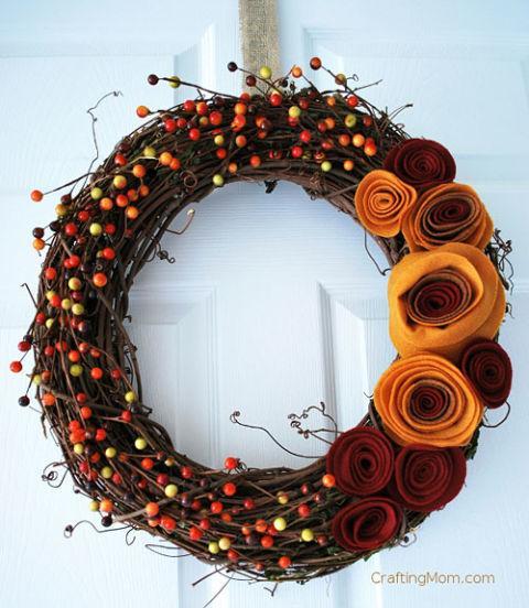 Őszi dekoráció | Forrás: goodhousekeeping.com