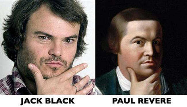 Jack Black és Paul Revere
