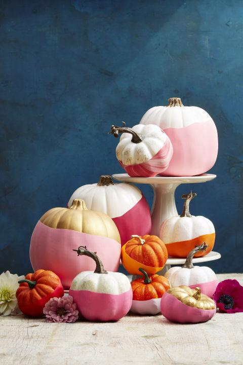 Sütőtök dekor másként |forrás: goodhousekeeping.com
