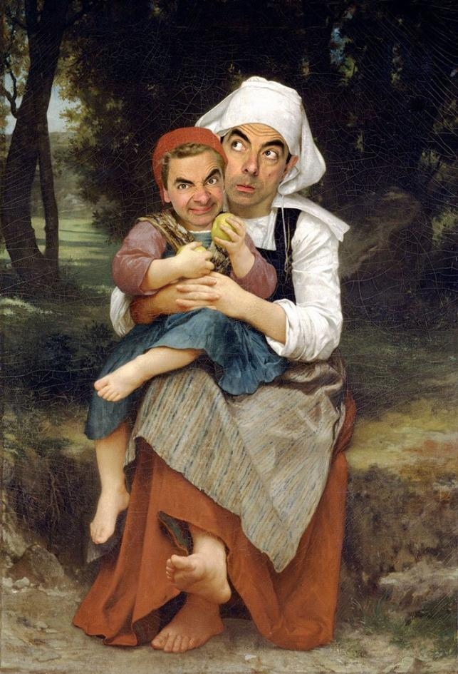 Bouguereau's Breton Brother And Sister | Fotó: rodneypike.com/mr-bean-store/